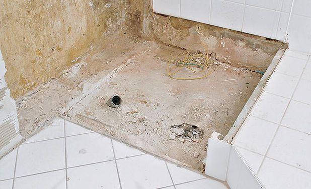Ebenerdige Dusche Nachträglich Einbauen duschwanne einbauen duschwannen eingebaut und badewanne dusche