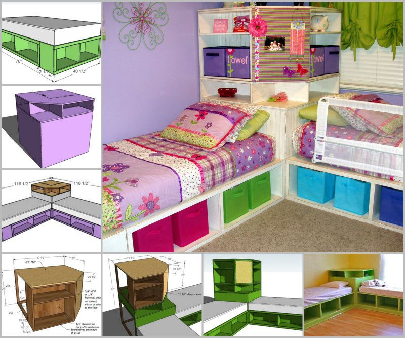 Corner Hutch Tutorial Twin Storage Captain Bed Or Beds Directly 1 2 Do You Have Plans For The With