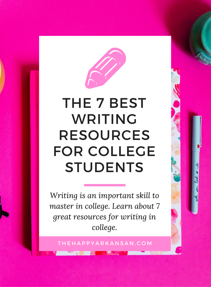 The 7 Best Writing Resources for College Students - Writing i an important skill to master in college. Click through to learn about 7 great resources for writing in college.