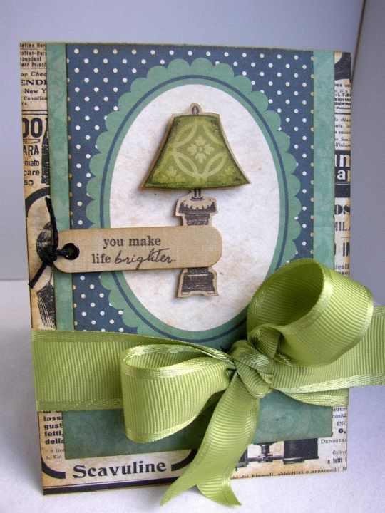{...life brighter} stamp of the week from unity stamp company - card created by Unity Design Team Member Stephanie Muzzlin
