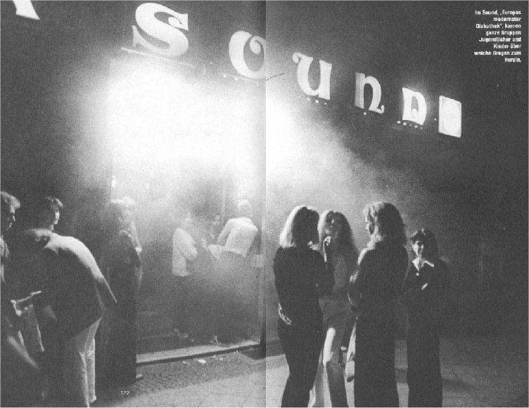 Discothek sound berlin