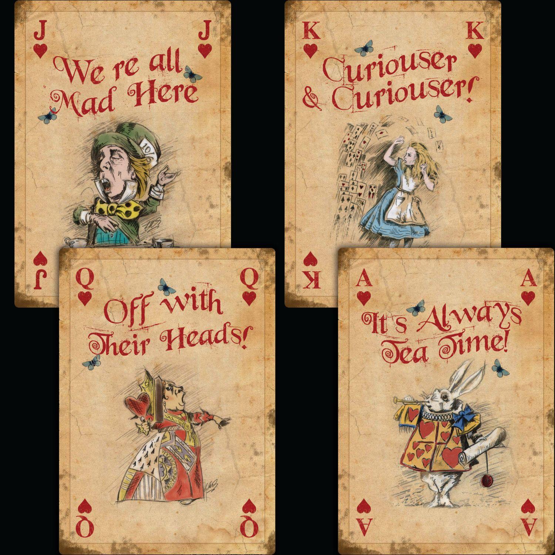 Alice In Wonderland Instant Download Wall Art Prints Giant Etsy Alice In Wonderland Play Alice In Wonderland Vintage Alice In Wonderland Drawings