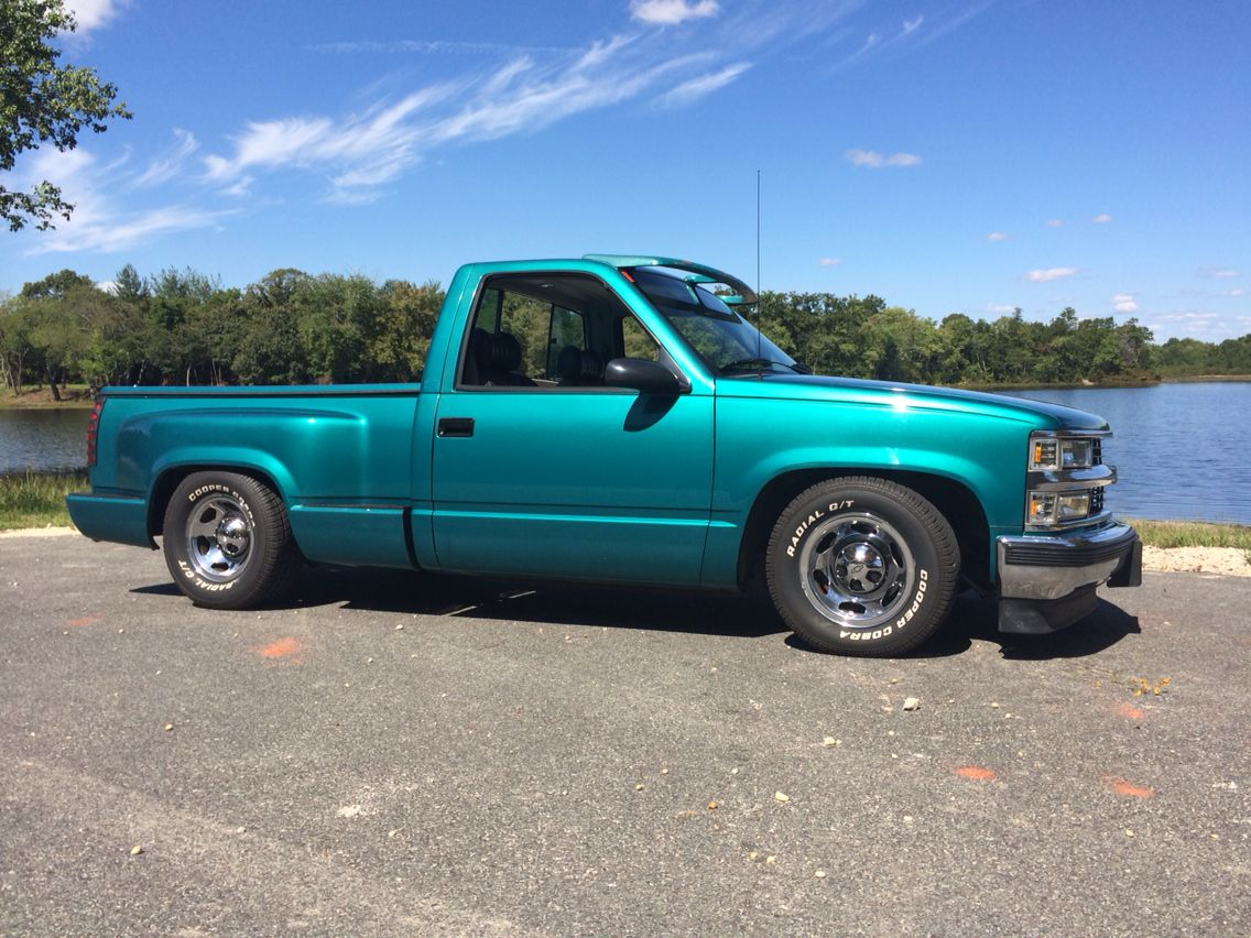 All Chevy c1500 chevy : 1994 Chevy C1500 Silverado 350 Short Bed. My ride. 5/7 Belltech ...