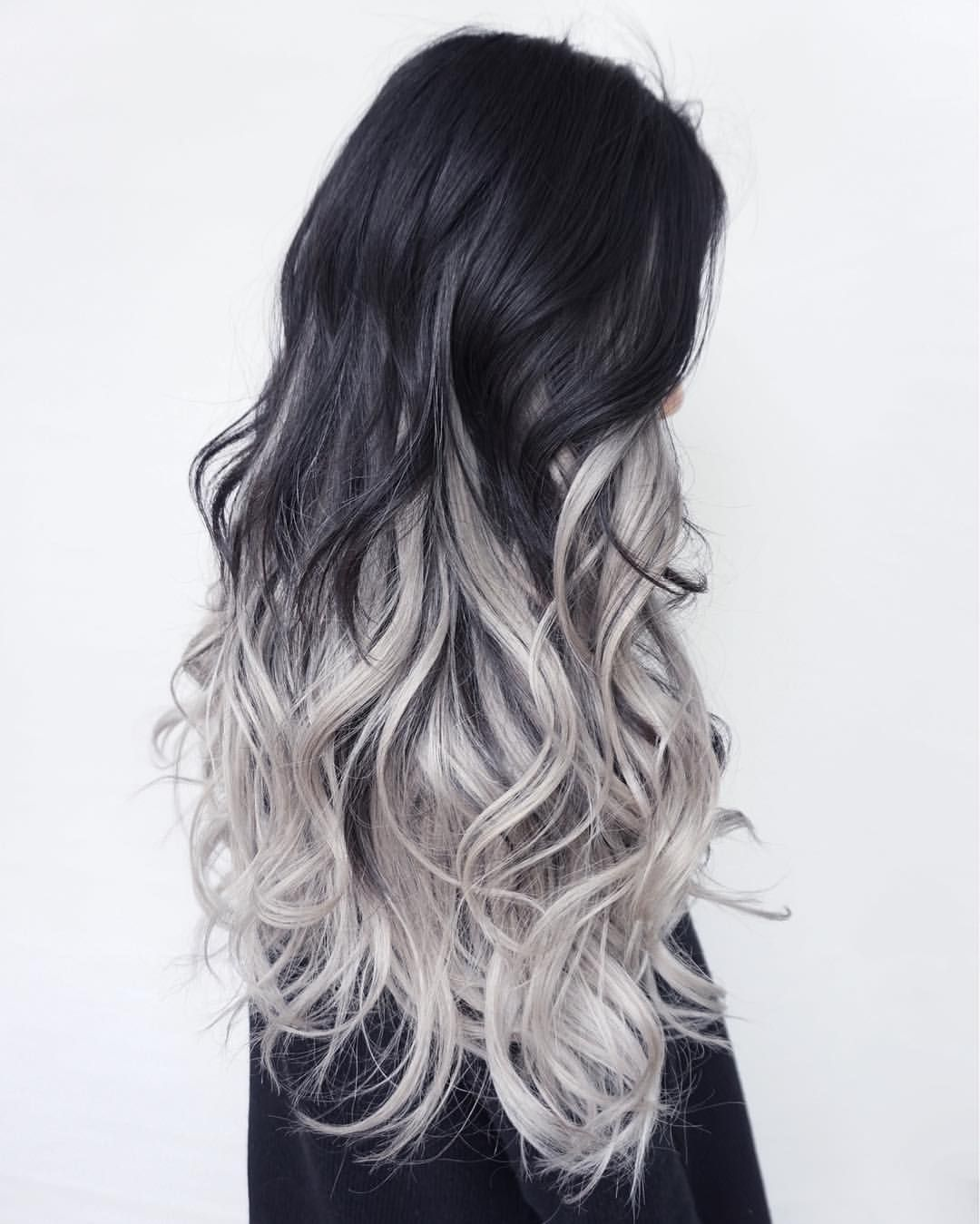 Juglmnt Silver Ombre Hair Grey Ombre Hair Hair Styles