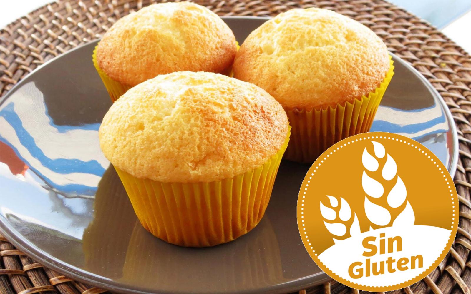 Recetas De Muffins O Magdalenas Sin Gluten Caseras Para Celíacos Receta Magdalenas Caseras Magdalenas Caseras Recetas Magdalenas