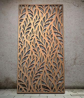 Bronze Laser Cutting Stainless Steel Sheet For Interior
