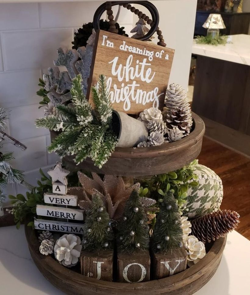 59 Inspiring Rustic Christmas Kitchen Decoration Ideas You Will Totally Love