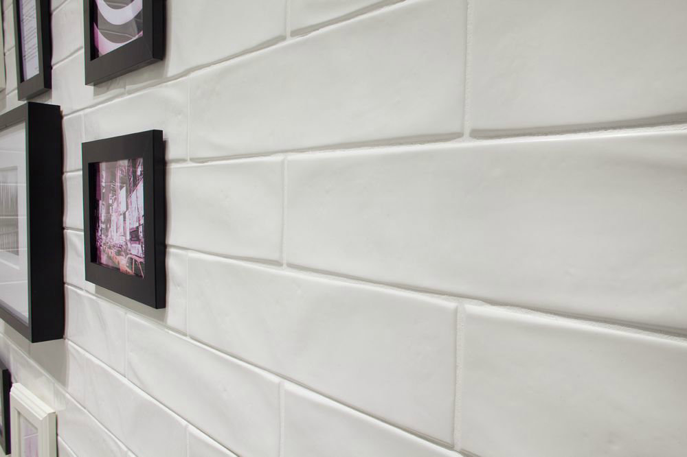 Gl Tile New Yorker Matte White 3 X 12