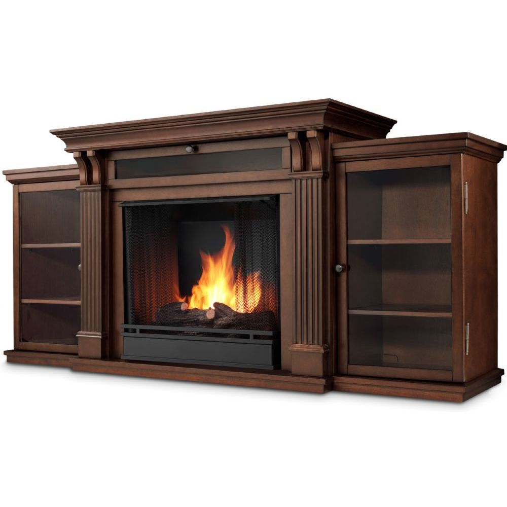 Attirant Real Flame 7720E DE Calie TV Stand W/ Ventless Electric Fireplace In Dark  Espresso