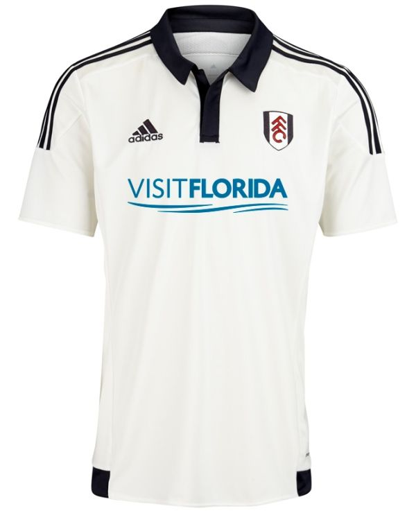 These are the new Fulham kits Fulham FC's new home and away shirts for the  upcoming Championship season. Made by Adidas, the new Fulham strips were ...