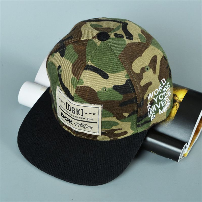 Marca snapback caps gorra de béisbol dgk sombrero gorras planas ...