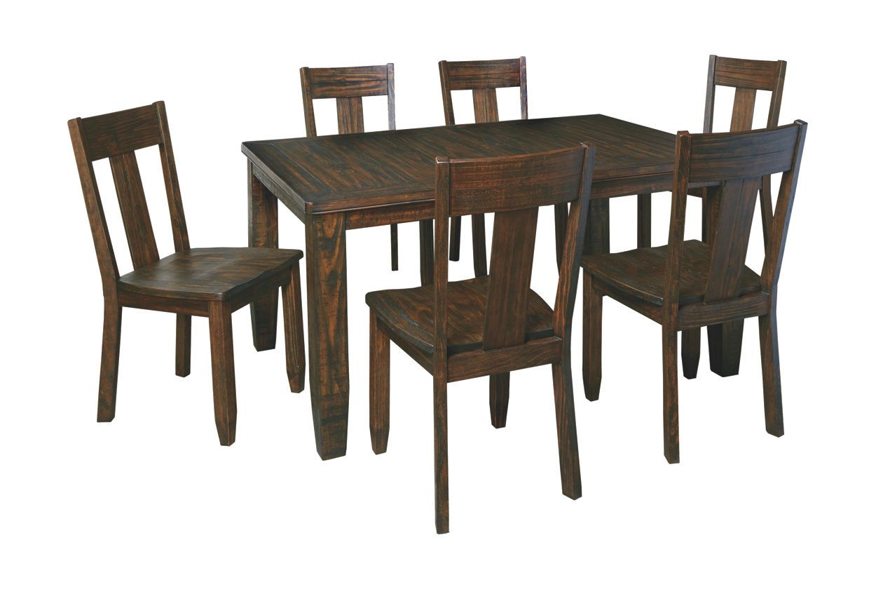 Trudell Dining Room Table Ashley Furniture Homestore Dining