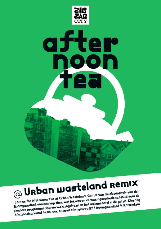 Urban Wasteland Remix, exhibition identity & infographics