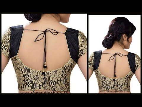 21a183fca9b Designer Netted Lining Blouse With Back Opening -Tamil - YouTube ...