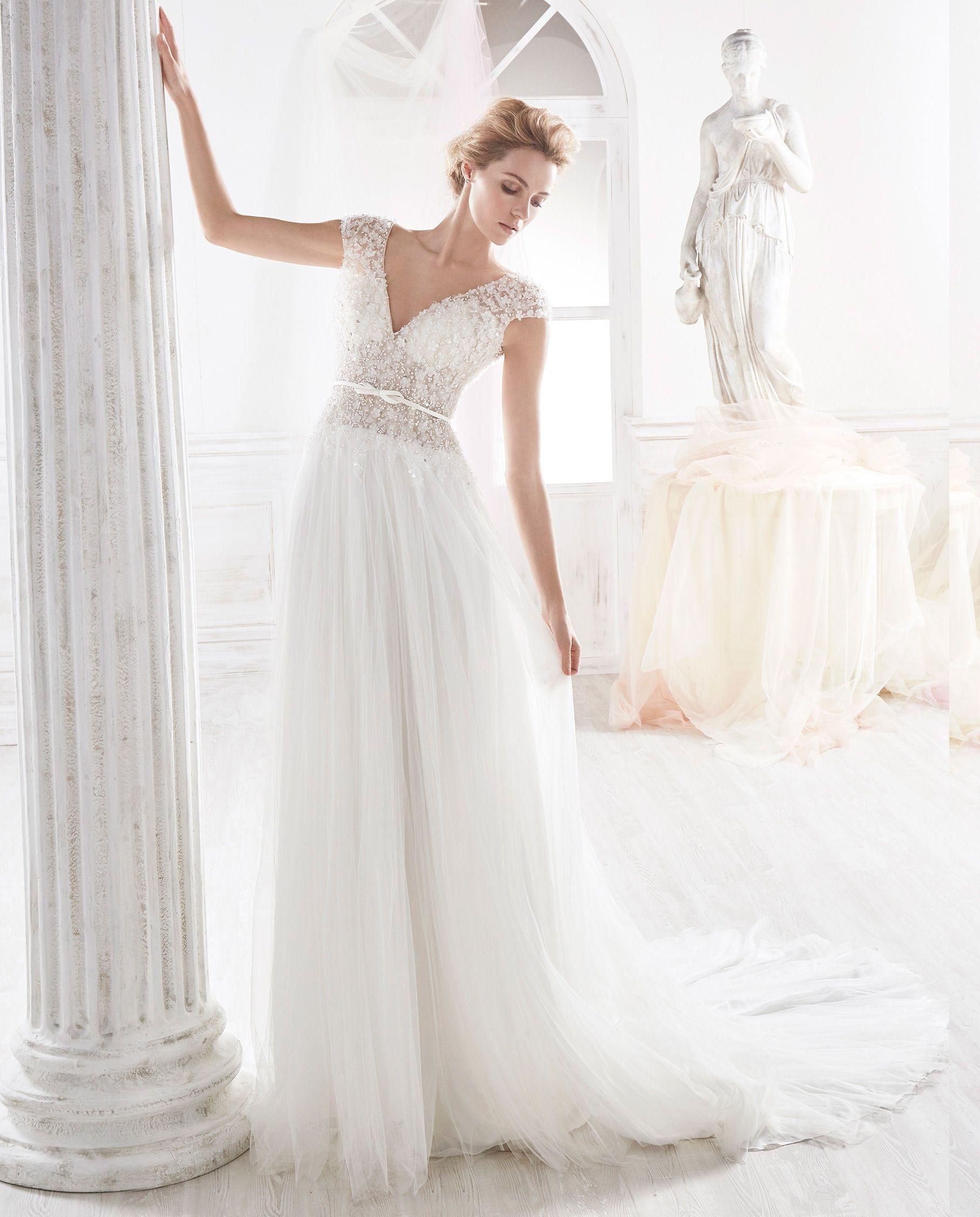 Nicole 2018 Bridal Collection NIAB18066. Wedding Dress