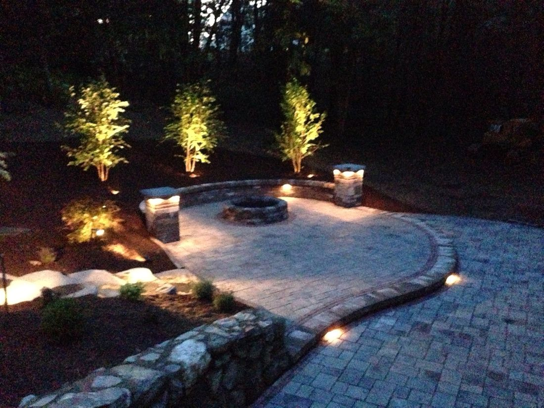 Unilock patio unilock richcliff paver patio lighting low voltage unilock patio unilock richcliff paver patio lighting low voltage lights landscape lighting workwithnaturefo