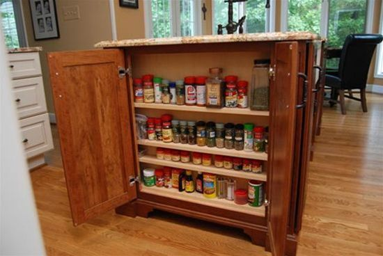 High Quality Shallow Wall Cabinets Around Kitchen Island   Google Search