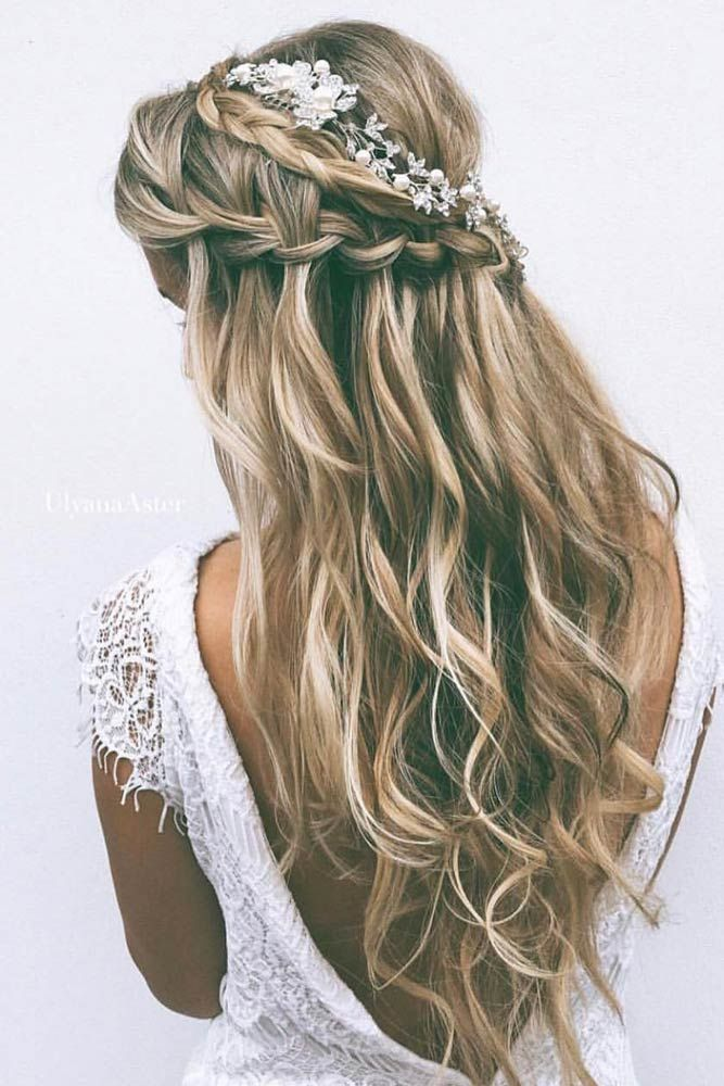 fancy prom hairstyles long