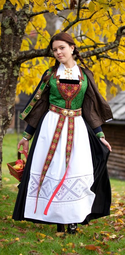 Scandinavian Folklore Clothes Folklore Fashion Folk Clothing Folk Costume