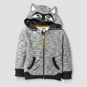 Baby Boys' Big Bad Wolf Costume Hoodie - 18 M Gray Wolf - Genuine Kids™ from OshKosh® : Target