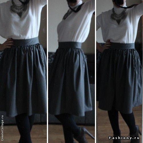 Выкройка юбки-колокол ServiceYard-уют вашего дома в Ваших 213
