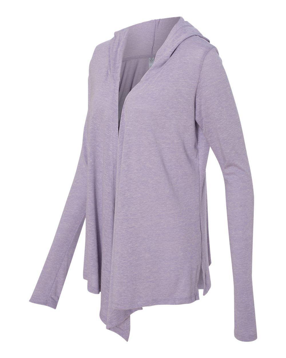Alternative Women's Eco Jersey Hooded Warm Up Wrap 2835
