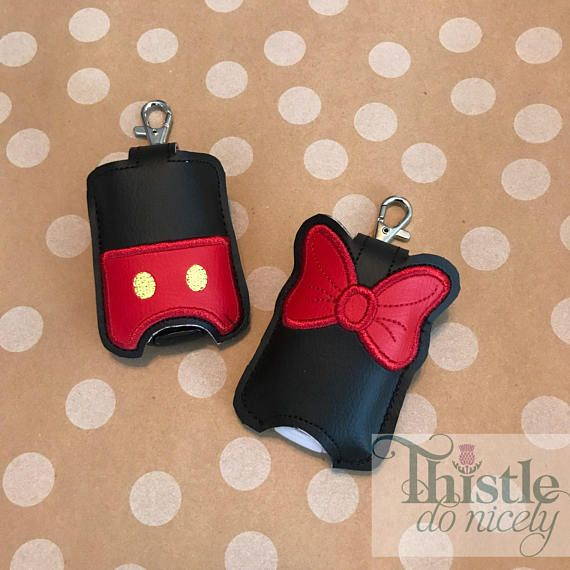 Magical Mouse Hand Sanitizer Keyfob Hand Sanitizer Key Fobs