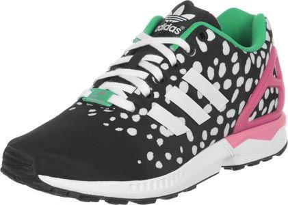adidas ZX Flux W schoenen zwart roze groen (mit Bildern ...