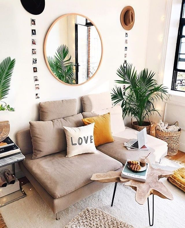 49 Easy Ways to Decorate Your College Apartment #livingroom