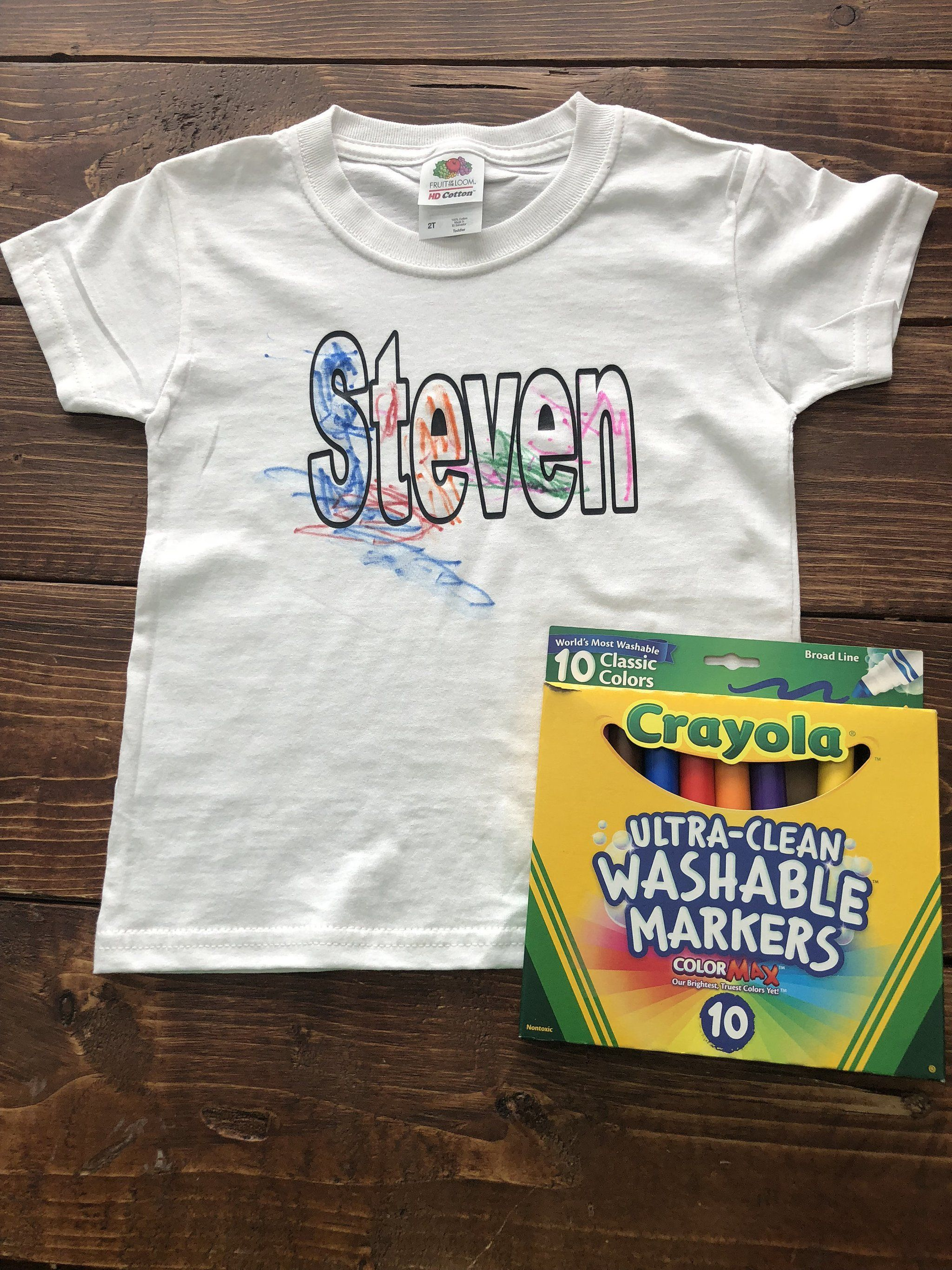 728255c54 Name Practice | Coloring Shirts | Color Shirt | Coloring Book Shirt |  Preschool Shirt | Preschool Gifts | Craft Kit for Kids