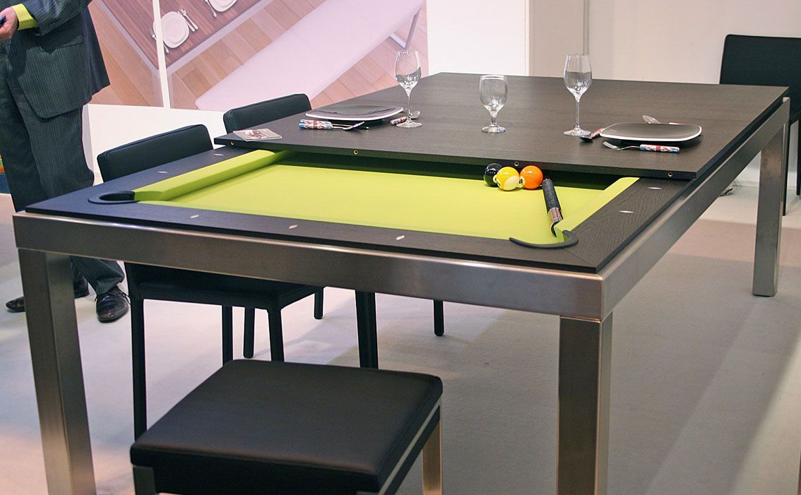 15 tables au design super original qui ont de quoi surprendre vos invits - Billard Et Table A Manger