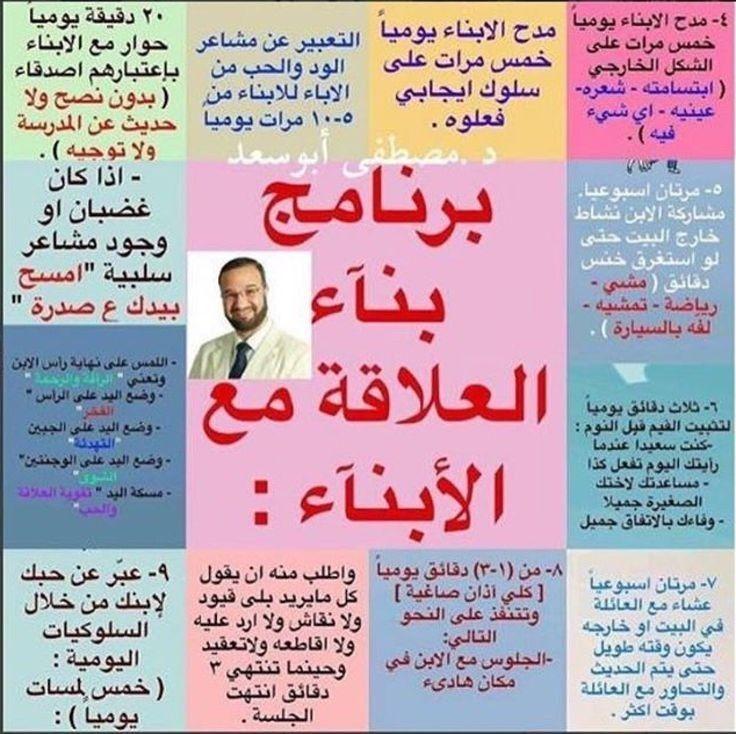 Pin By Soumiya Samri On تربيه Kids Planner Baby Education Parenting Education