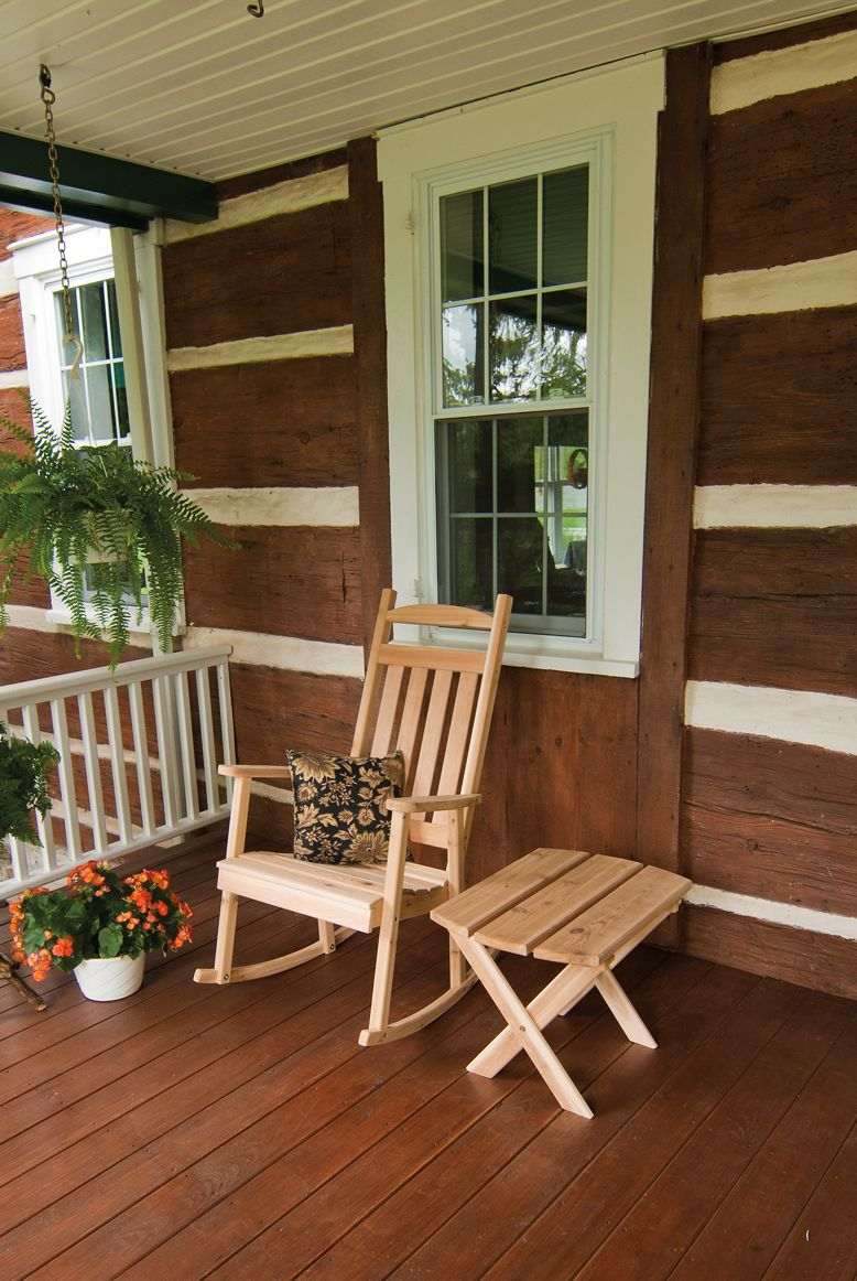Cedar Classic Porch Rocker | Cedar Outdoor Furniture ...