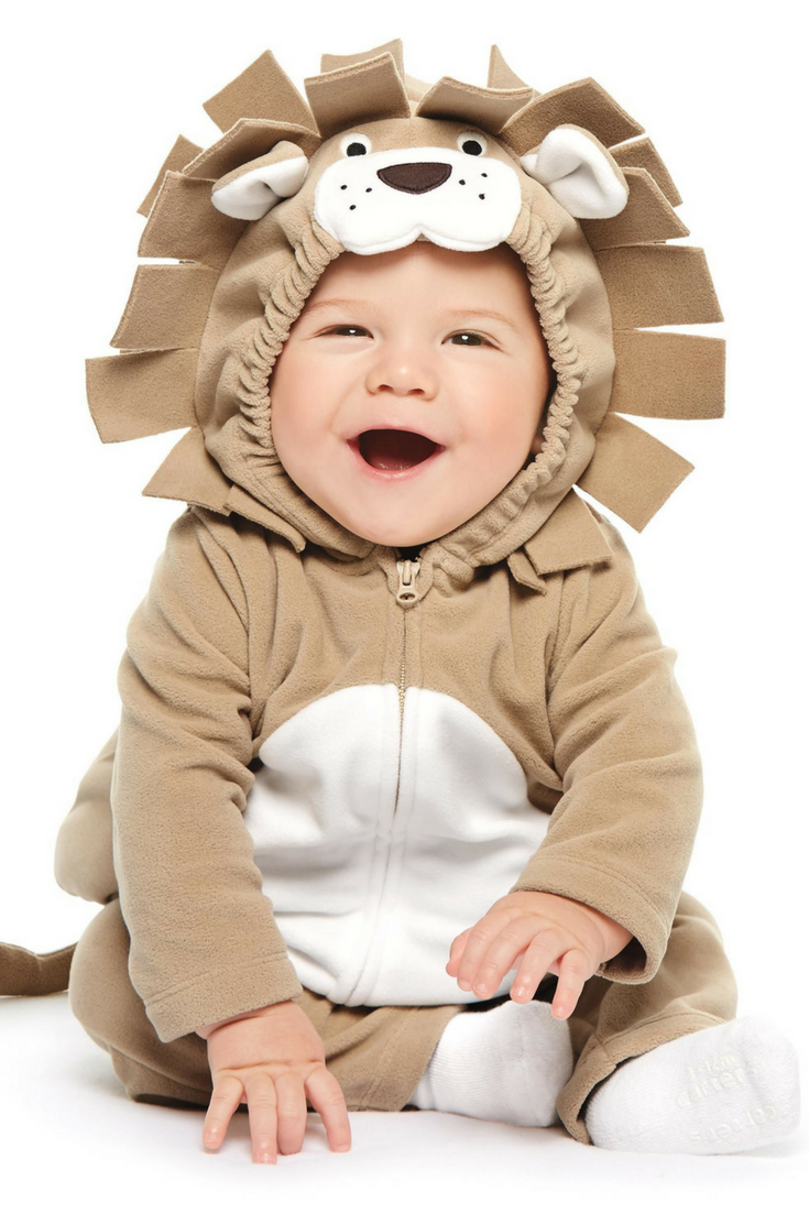 your baby will roar with excitment in this baby halloween costume