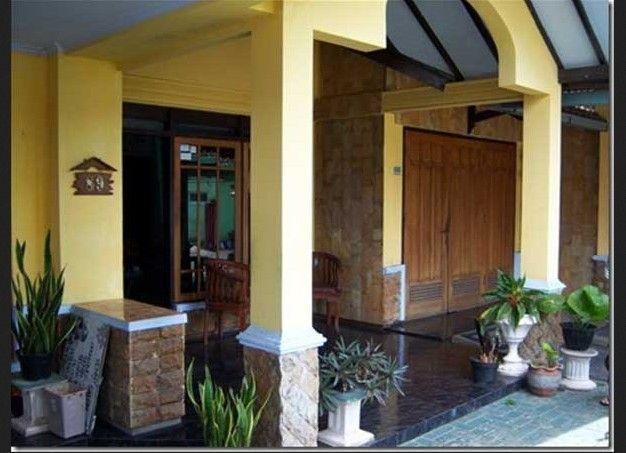 Desain Teras Rumah Joglo Minimalis  teras rumah sederhana di kampung house home home decor