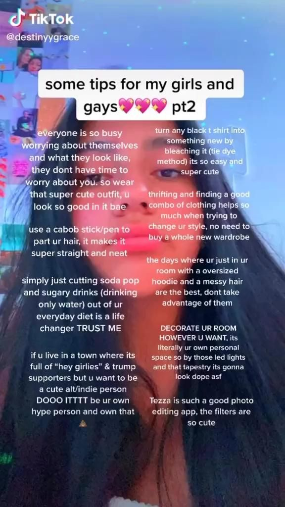Some Tips For My Girls And Gays Video In 2020 Girl Advice Crush Advice Life Hacks Every Girl Should Know