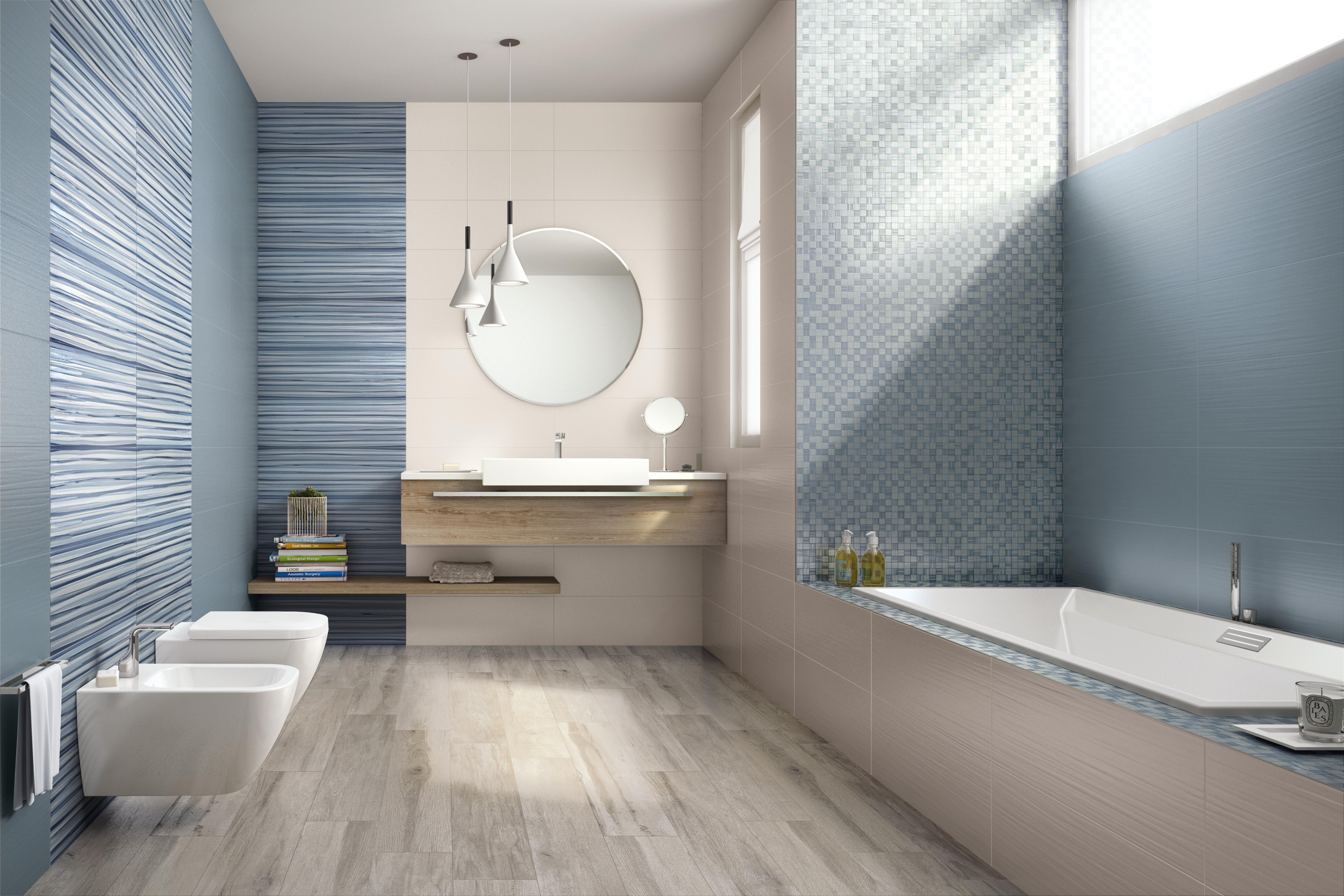Pin di ceramiche supergres su lace rivestimento per bagni dalla morbida superficie bathroom - Piastrelle bagno legno ...