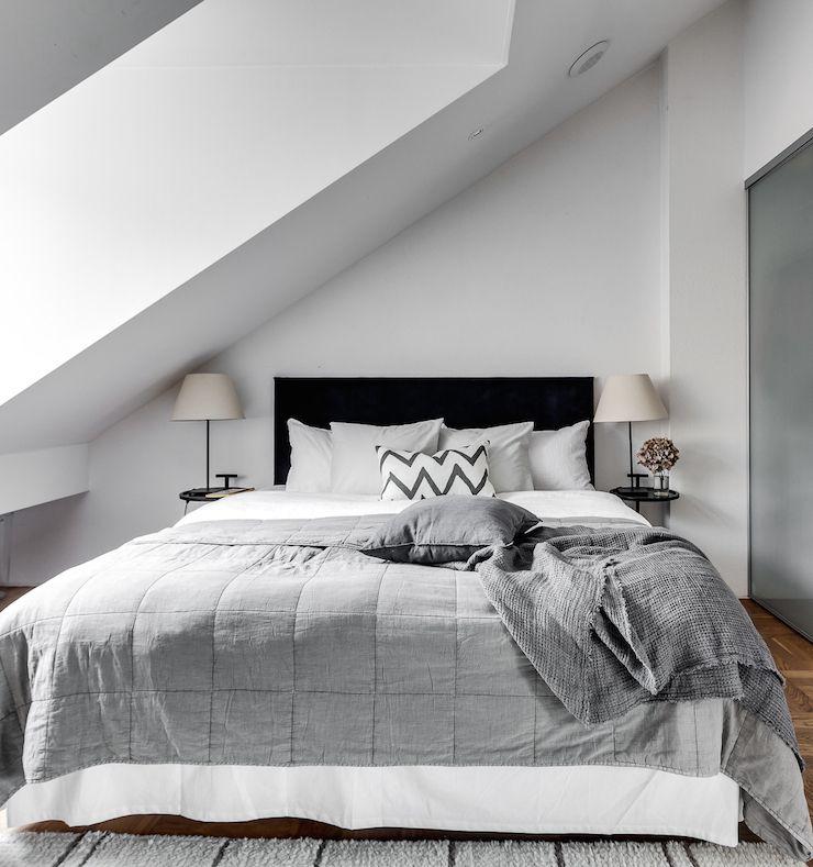Schlafzimmer Dachschräge Gestalten Genial Wandgestaltung: Einrichten Und Wohnen In 2019
