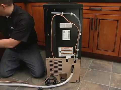 Ice Maker Installation Plumbing Code and Drain Pump https