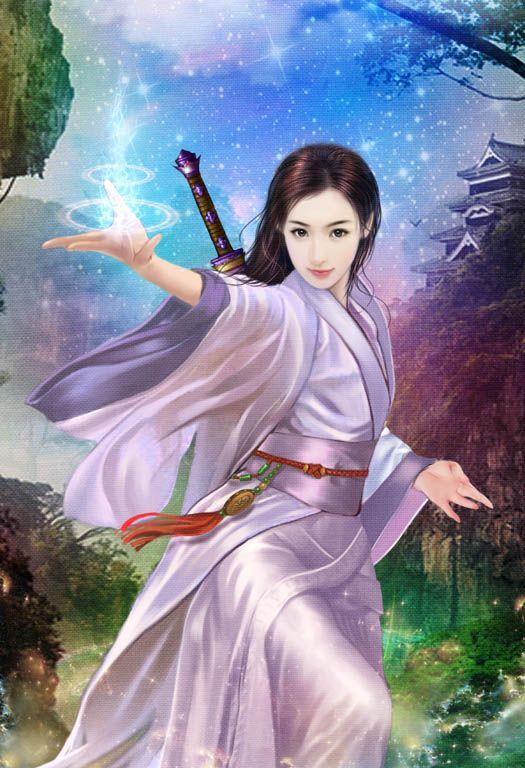 Chinese Portrait Paintings In 2020 Beautiful Fantasy Art Art
