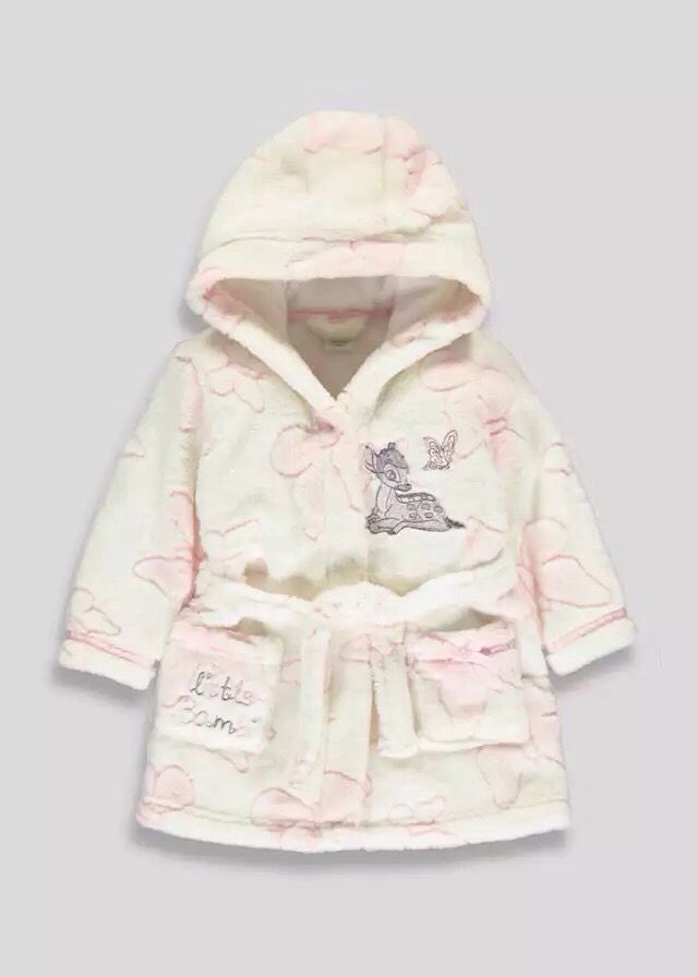 Cute little bambi dressing gown -Matalan | All about babies ...