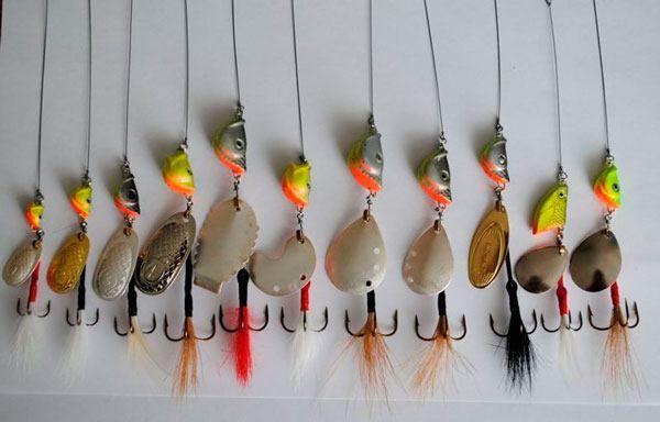 Фото – блесны-вертушки - Рыбалка на спиннинг в 2020 г ...