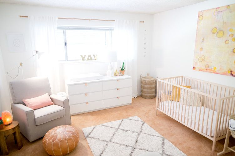 Minimalist Nursery Inspiration Newborn Baby Girl Photos    Lauren Alisse  Photography