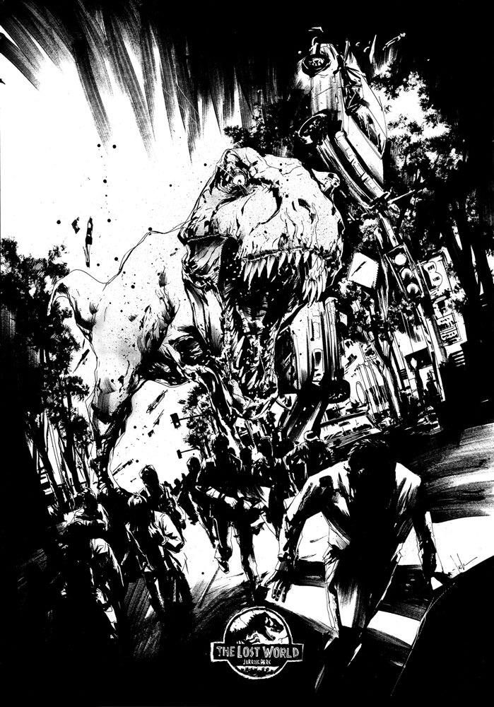 Jurassic Park: The Lost World by Jock *