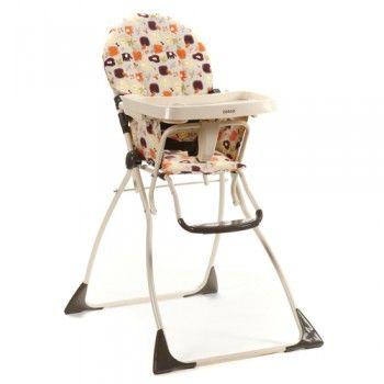 Cosco Baby Tan Flat Fold High Chair Folding High Chair Kids Folding Chair High Chair
