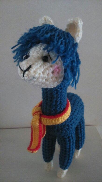 Crochet lama | Amigurumi Alpaca | Pinterest | Stoffe