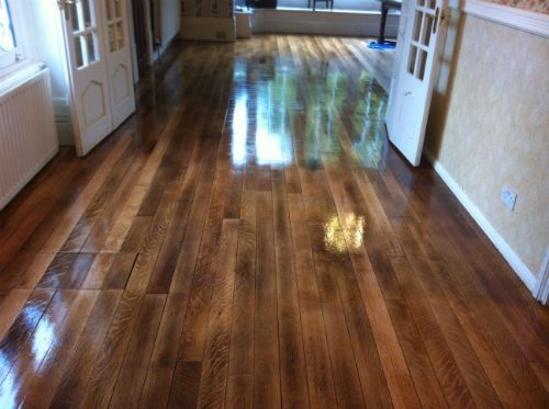 old school hardwood flooring