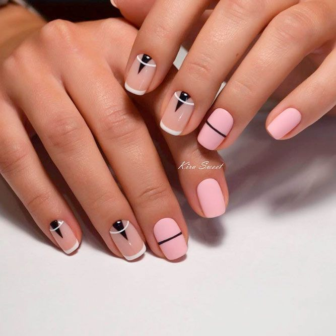 French Tip Nail Designs: Create Your Perfect Mani | Diseños de uñas