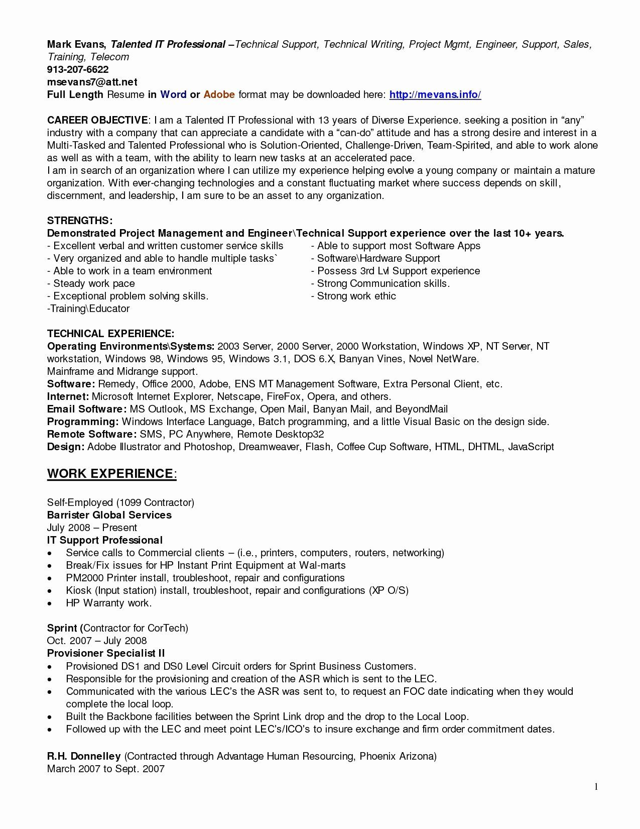 25 technical writer resume sample in 2020 with images