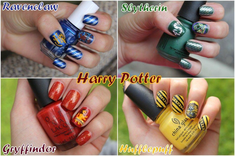 Hoggy Warty Hogwarts, Harry Potter kollegierne